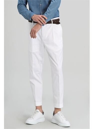Lufian Jean Pantolon Beyaz